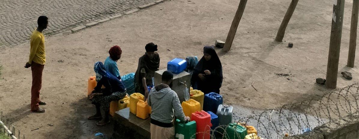 بناء جيدا لتوفير المياه للقرويين