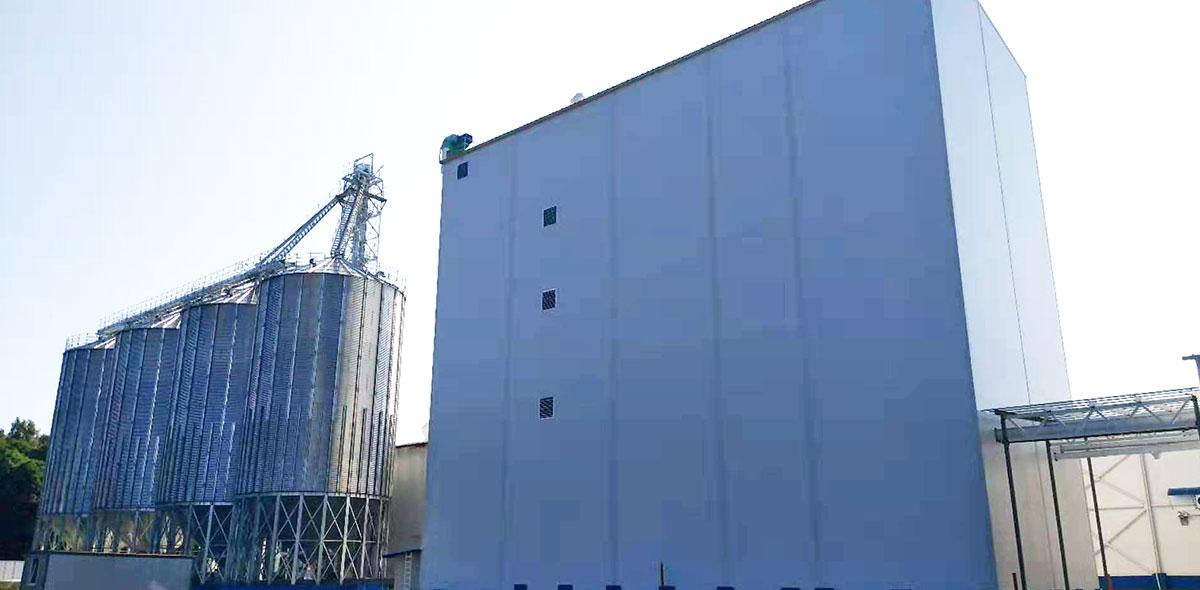 روسيا 180TPD القمح طحن مشروع تسليم المفتاح