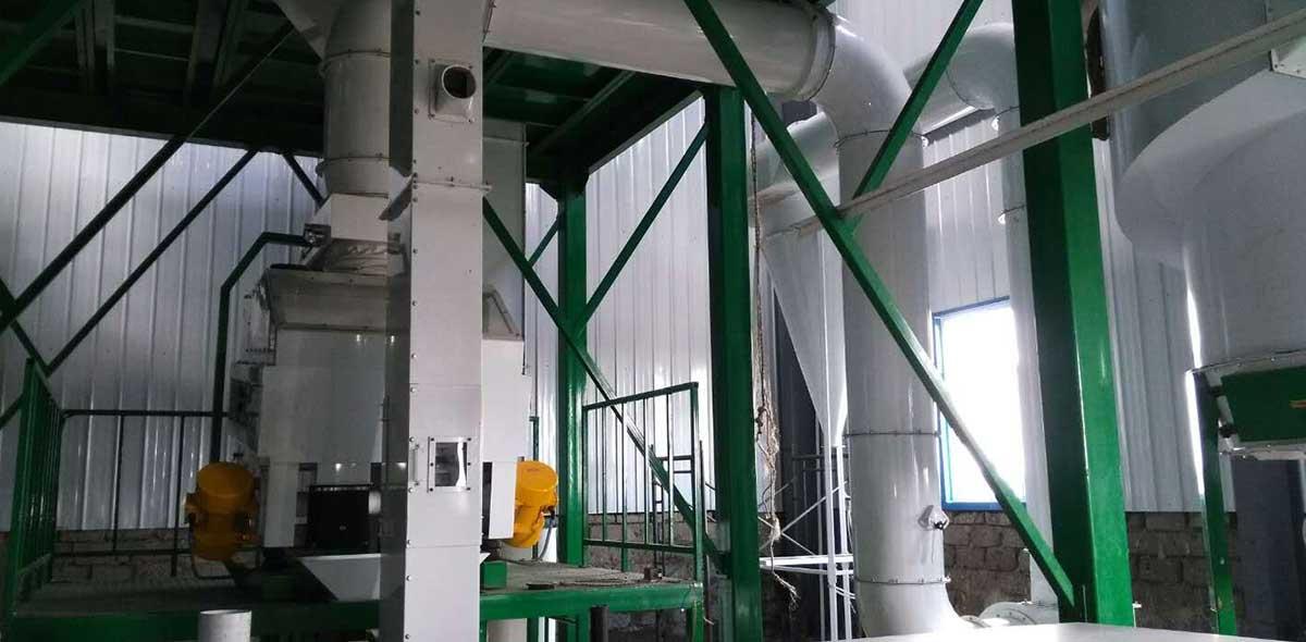 مصنع طحن الذرة 100TPD كينيا