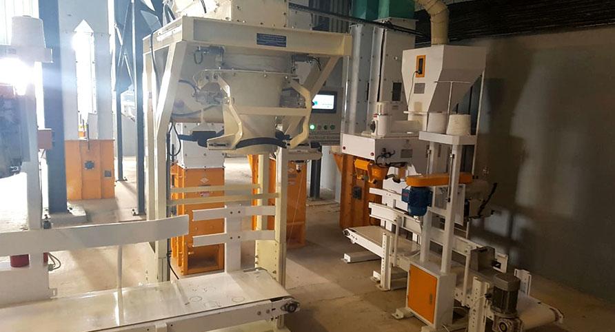 زمبابوي 150TPD مصنع طحن الذرة
