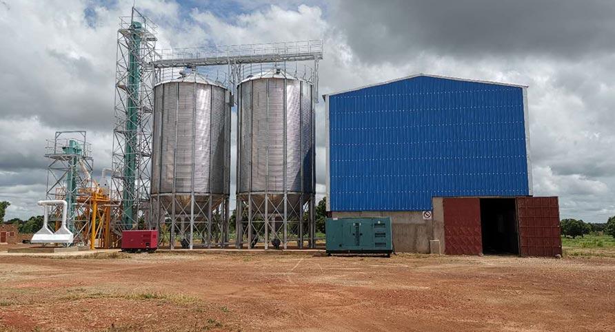 مصنع طحن الذرة في بوركينا فاسو 70TPD