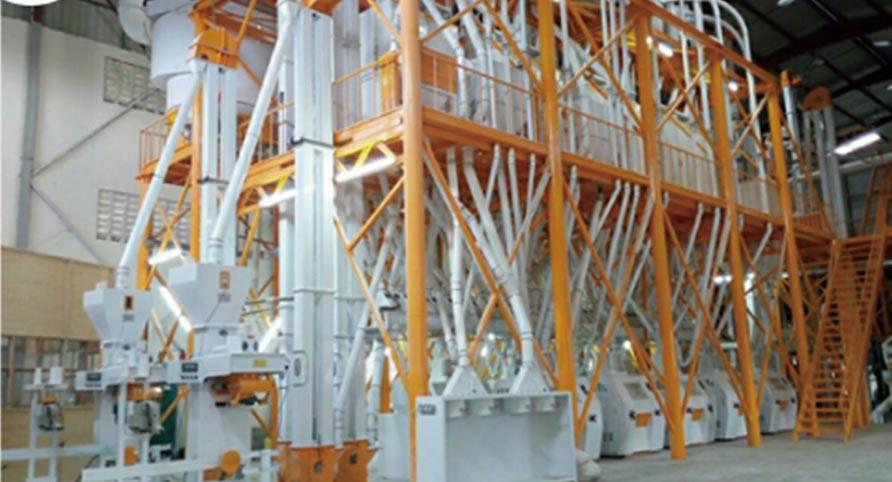 أوغندا 140TPD مصنع طحن القمح