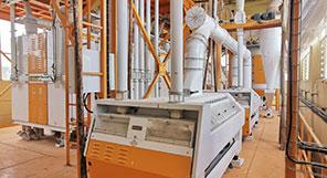 إثيوبيا 120TPD مصنع طحن القمح