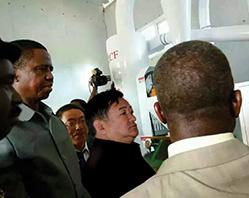 في عام 2015، وقعت بنجاح عقدًا لمشروع معدات معالجة الذرة بالطاقة الكهربائية المولودة بالطاقة الشمسية في زامبيا، بحيث يكون مسجلاً رقمًا قياسيًا جديدًا في طلبية المبيعات الفردية للشركة