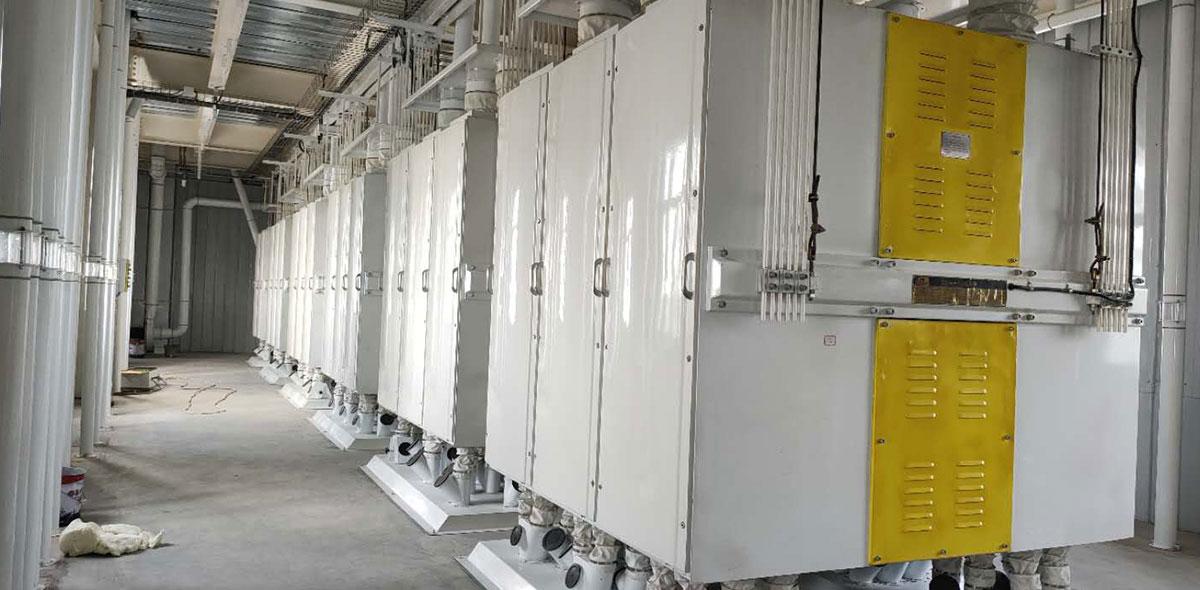 مشروع تسليم المفتاح بقدرة انتاجية 200 طن/ يوم في الكاميرون