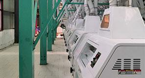 أوغندا 160TPD مصنع طحن القمح